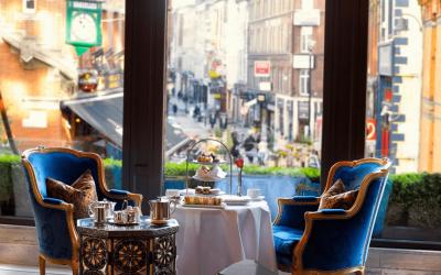 Afternoon tea, Westbury Hotel