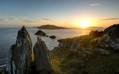 Dunmore Head, Blasket Islands, Sea, Sunsets, Wild Atlantic Way