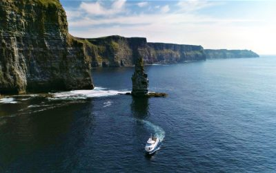 Cruise under the Cliffs of Moher