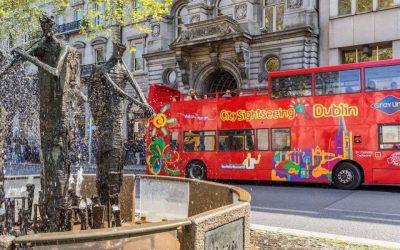 Dublin Hop on Hop off bus tour
